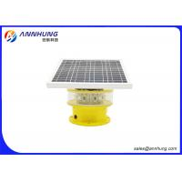 Quality Flash Mode Solar Powered Aviation Lights / Aircraft Obstruction Lights for sale