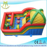 Quality Hansel inflatable bouncer slide inflatable bouncers for adults for sale