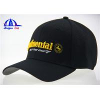 Quality Cotton and Polyester Mesh Woven Fitted Baseball Caps for sale