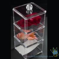 Quality clear acrylic cosmetics organizer for sale