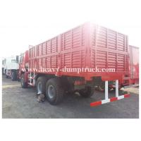 China 336 hp Heavy cargo truck  6x4 payload 14 tons with 430mm diaphragm spring clutch on sale