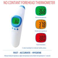 Infrared Ear No Touch Baby Thermometer , Digital Fever Thermometer Battery Power Supply for sale
