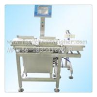 Quality food check weigher for fresh and frozen fish to detect the weight of fish for sale