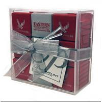 Quality Environmental acrylic display case , acrylic gift case with lid for sale