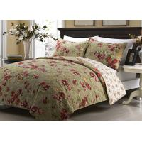 Quality Printed Machine Quilting Bedspreads And Coverlets 3pcs Color / Pattern Customized for sale