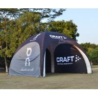 China Pop Up Inflatable Exhibition Tents High Wind Resistance Air Tight Damp Proof for sale