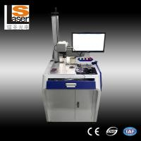 Quality High Efficient Fiber Laser Marking Machines For Metals Plastic Rubber Wood for sale