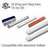 Energy Saving T8 LED Tube Light 1080lm High Lumen PC Lens Overload Protect for sale