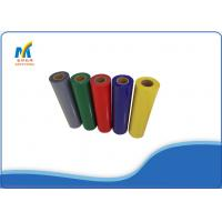 Buy Textiles PVC Heat Transfer Vinyl Rolls 150 - 180 Degree With Cold Peeling at wholesale prices