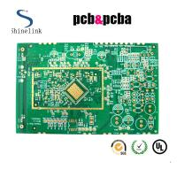 """Quality 5u"""" immersion gold multilayer pcb board with BGA 2.0oz copper for sale"""