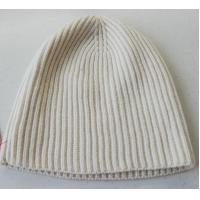 Quality Women Knitted Hat Ribs Knitting Patterns Accessories 2/28 nm Spinning Yarn for sale