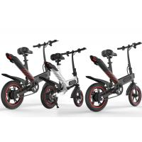 Quality Lightweight Aluminum Folding Electric Bike Fold Up Energy Saving Eco - Friendly for sale