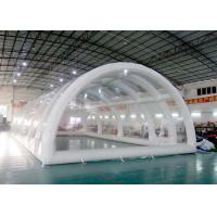 Buy cheap Large Outlet High Grade Warranty Inflatable Building Structures, Clear Inflatable Tent from wholesalers