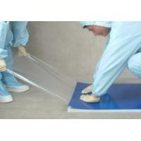 China Polyethylene Floor Sticky Mats for Clean Rooms , High Viscosity Moved Dust on sale