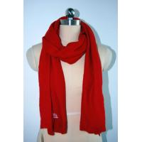 Quality OEM Knitting Patterns Accessories Ladies Red Scarf Anti Shrink for sale
