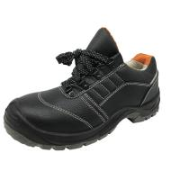 Heat Resistant Industrial Work Boots Second Layer Leather Slip On Steel Toe Shoes