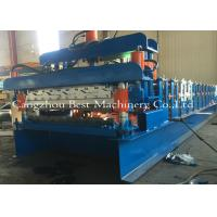 Quality Double Layer Roof Sheet Tile Roll Forming Machine 12-15m/Min New Condition for sale