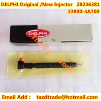 Quality DELPHI Original and New Injector 28236381 / 33800-4A700 / 338004A700 for KIA / Hyundai for sale