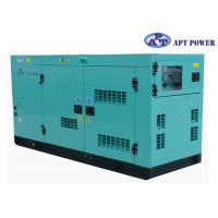 Quality 30kVA 1500rpm Cummins Diesel Generator with AMF / ATS Panel , AC Output for sale