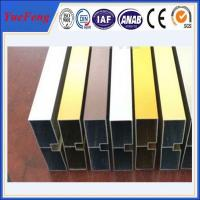 China China factory wholesales colored anodized aluminum channel on sale