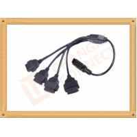 Quality Durability PVC 16 Pin OBD Extension Cable Black CK-MF16Y04L for sale