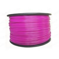 Quality Purple soft plastic 3MM ABS Filament for 3D Printing Materials , high strength for sale