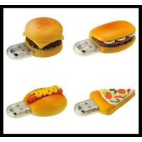 Quality hot sale Christmas Gift!OEM Food Shape memory disk PVC Usb Flash Drive with best price for sale
