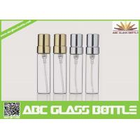 Quality Wholesale CE/ISO 5ml Tubular Glass Vial, 5ml Glass Bottle With Aluminum Pump Sprayer for sale
