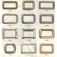 Quality Quadrate Buckle Parts & Accesories in Zinc Alloy Die Casting Mould Moulding for sale