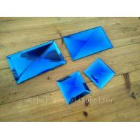 Buy cheap Glass factory Beveled Interior Mirror Squares perfect Wall Mirror from wholesalers