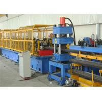 Quality 2 Wave W Beam Highway Guardrail Roll Forming Machine Prodcution Line for sale
