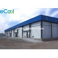 Quality Steel Columns Cold Storage Frozen Food , Large Frozen Food Warehouse for sale