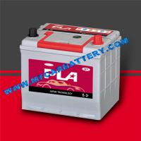 China GREY 12V 60AH Car Battery , Dry Charged Maintenance Free Battey SMF55D23R/L on sale