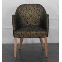Quality Modern wholesale beech wood fabric upholstery dining chairs, arm chair,side chair for dining rooms for sale