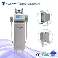 Quality 10.4 inch touch color screen 5 handles cryolipolysis liposuction machine on sale for sale