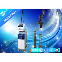 China 10600nm Co2 Fractional Laser Machine For Acne Scars , Radio Frequency Skin Tightening Devices on sale