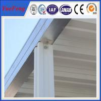 Quality New arrival ! 6063/6061 OEM used aluminum awnings for sale /aluminum awning parts for sale