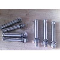 Quality Iron /  Low Carbon Steel Galvanized Anchor Bolts , Galvanized Structural Bolts for sale