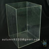 Quality BO (14) clear acrylic box for sale
