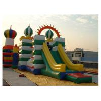 Quality High Durability Inflatable Obstacle Course With Slide / Tunnel / Bouncer for sale