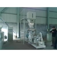 Quality 600kg/h double screw extruder Vietnam fish feed machine price for sale