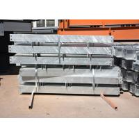 Customized shop drawing hot dip galvanized structural steel members for sale