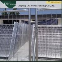 Construction Site Australian Temporary Fencing With Clips And Concrete Feet