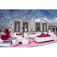 China Large Clear Luxury Wedding Tents Decoration With PVC Roof Cover on sale