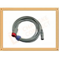 Quality IBP Adapter Cable B .Braun Invasive Blood Pressure Cable 12 Pin , UL And Rohs Standard for sale