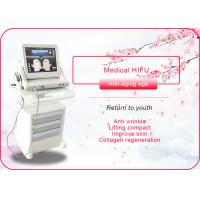 Quality Portable / Vertical HIFU Machine Anti Wrinkle / Face Lift Machine 110-240V 50/60Hz for sale