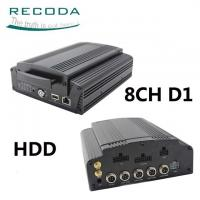 China Hard Disk Mobile HD DVR 3G / 4G GPS Tracking Support Live View Video For Bus on sale
