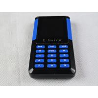 Buy Visitor Reception Tour Guide Microphone Speaker , 006A Mini Handheld Radio Guide System at wholesale prices