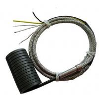 Quality Spring coil Heater 4*2mm JN-CH7 250W with K/J thermcouple Fiberglass wire for sale