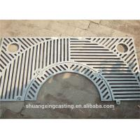 Buy cheap Eco Friendly Cast Iron Tree Grates Electro Zinc Plating 1000mm X 1000mm from wholesalers